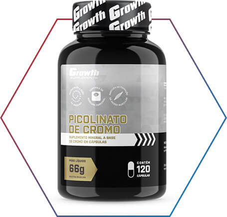 Picolinato de cromo é na Growth Supplement