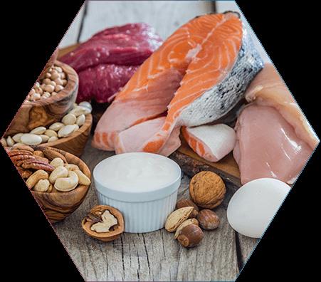 Tipo de dieta: Quantidade de proteína ingerida nas refeições sólidas determina a necessidade de suplementação