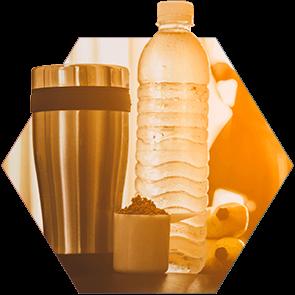 Digestão Facilitada: Rápida absorção é uma das vantagens do consumo com água