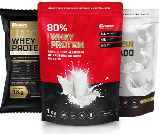 BCAA e whey protein