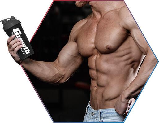 Glutamina: máxima qualidade e preço baixo é na growth supplements