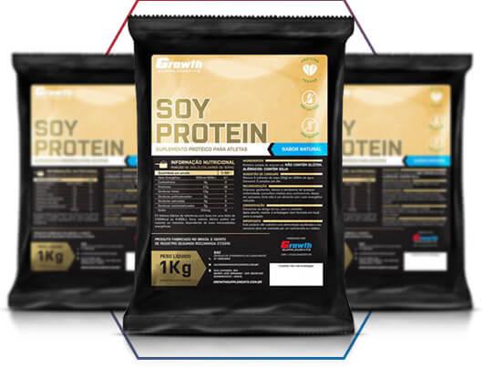 Proteína de soja Growth Supplements