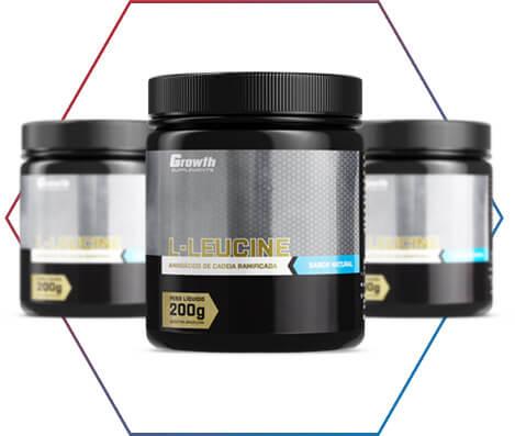 Leucina growth supplements