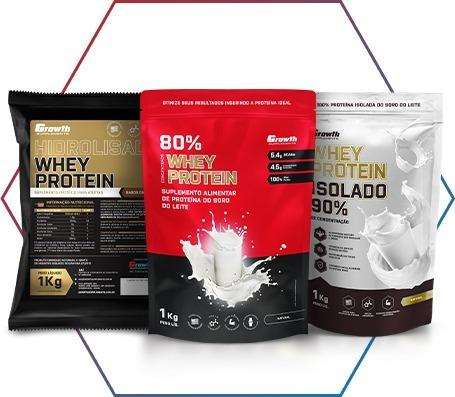 O whey protein pode ser combinado com o caseinato de cálcio?