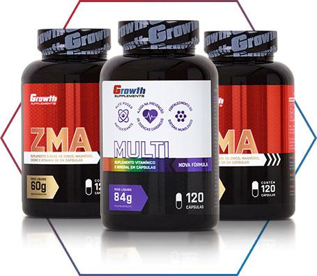 Suplemento de Zinco Growth Supplements