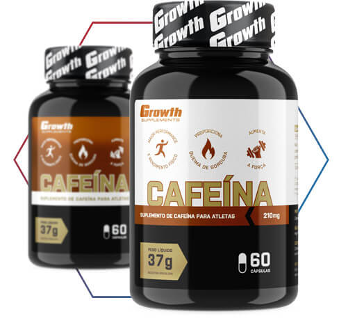 Cafeína Growth Supplements: o melhor custo-benefício