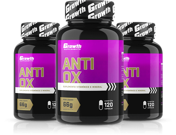 Anti-OX 120 caps - Growth Supplements