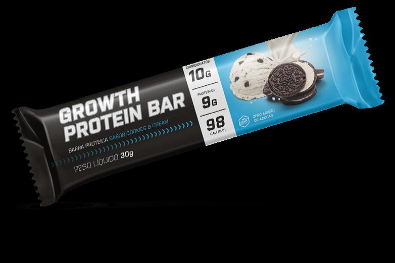 Barra de proteina sabor cookies