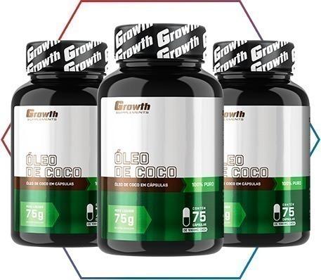 Encontre o óleo de coco perfeito para a sua dieta na growth supplements