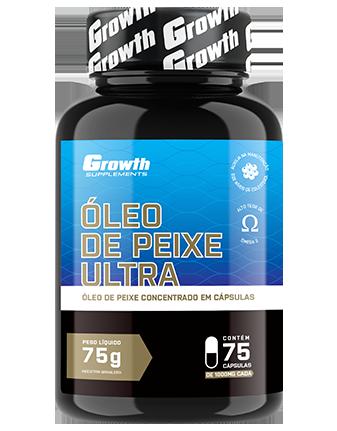 Óleo de peixe Ultra (75 softgel) - Growth Supplements