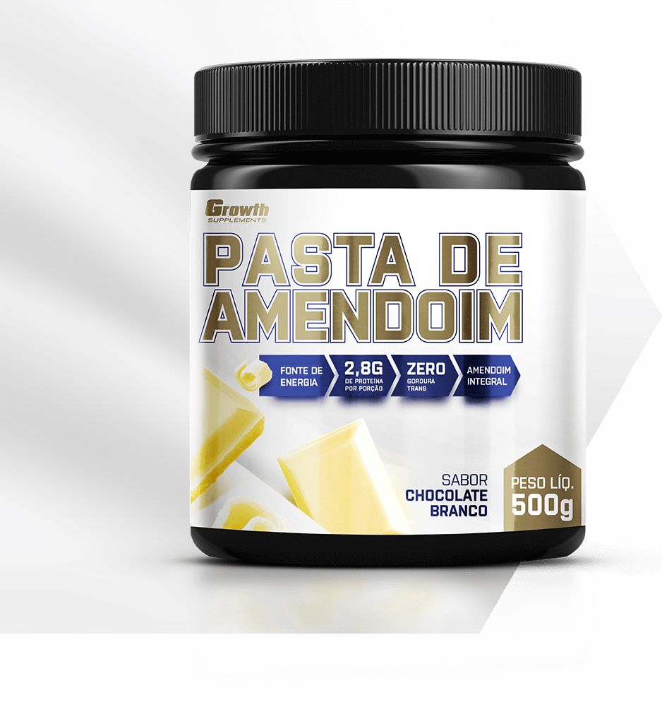 Pasta de Amendoim Chocolate Branco