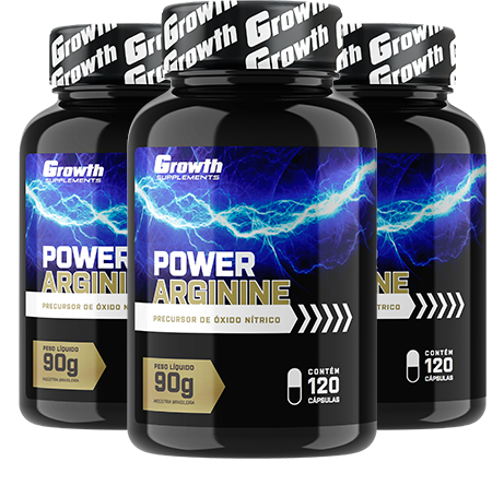 Power Arginine (120caps) - Growth Supplements