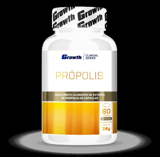 Própolis 60 cápsulas - Growth Supplements