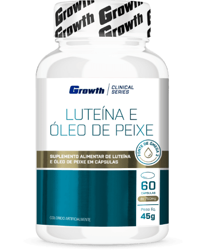 Luteína 60 cápsulas Growth Supplements