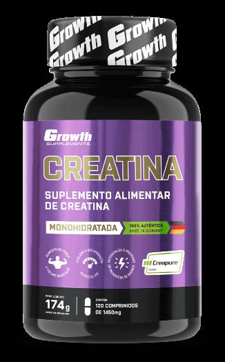 Creatina (Creapure®) 120comp - Growth Supplements