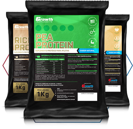 PEA PROTEIN GROWTH SUPPLEMENTS