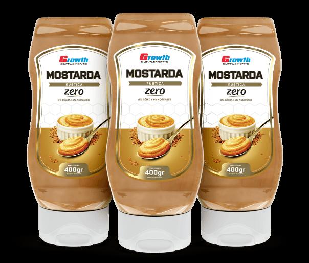 Mostarda Rústica 400g - Growth Supplements