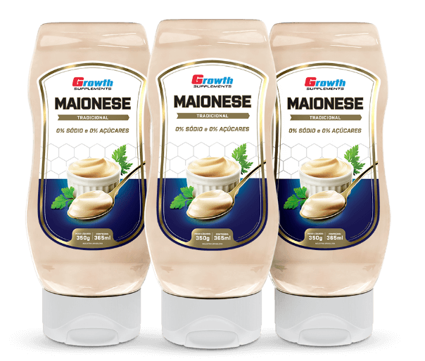 Maionese 350g - Growth Supplements