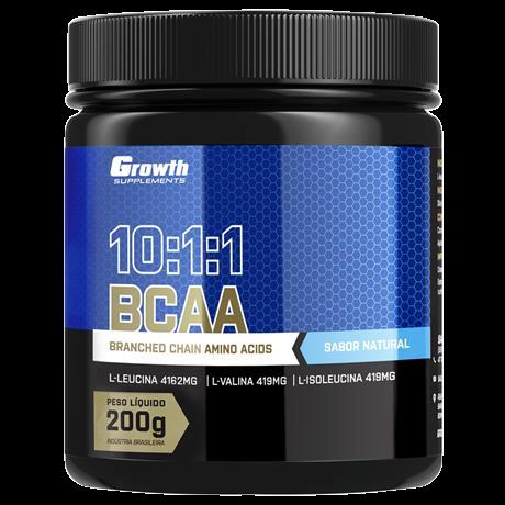 BCAA (10:1:1) (200g) (em pó) - Growth Supplements