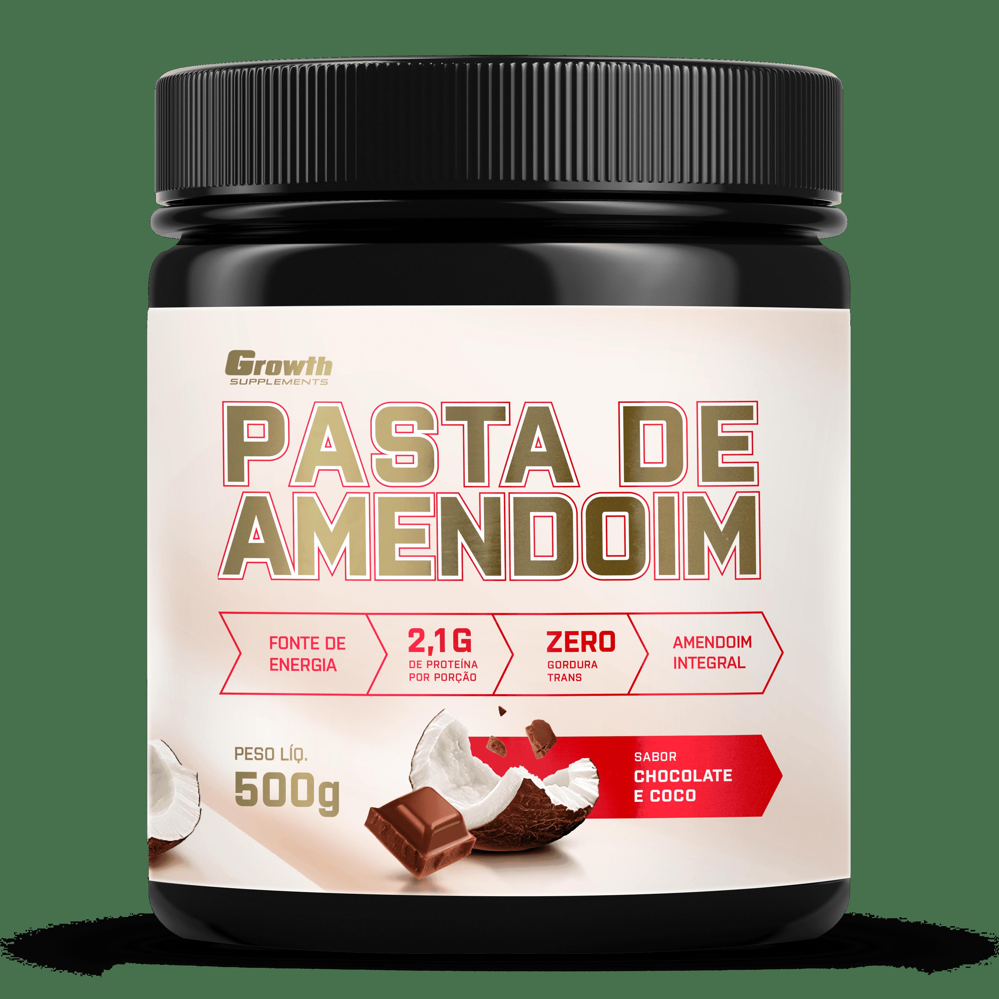 Pasta de Amendoim Chocolate com coco