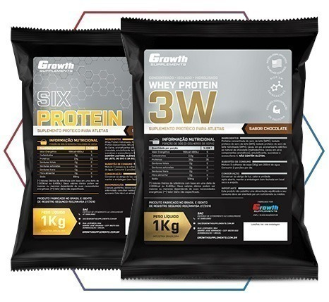 SIX PROTEIN GROWTH SUPPLEMENTS: O PRODUTO IDEAL PARA O SEU OBJETIVO