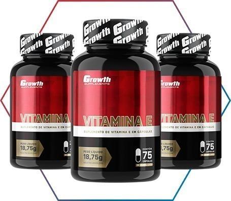 Vitamina E na Growth Supplements