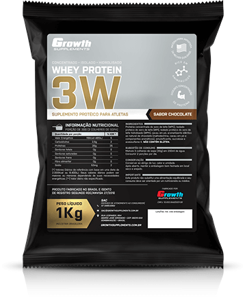 3 Whey Protein (1kg) - Growth Supplements
