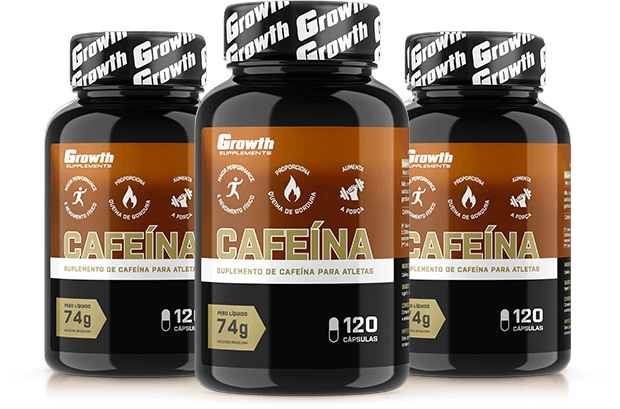 Cafeína (420MG) 120caps - Growth Supplements (thermogênico)