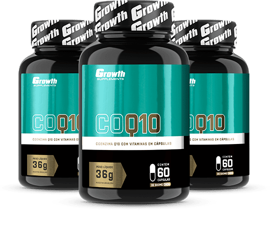 Coenzima Q10 - Growth Supplements