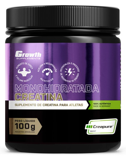 Creatina (100g) (Creapure®) - Growth Supplements