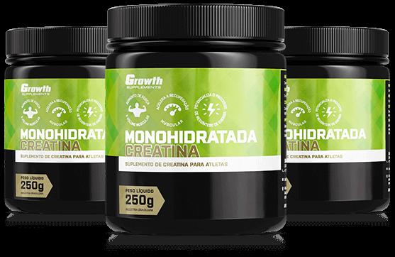 Creatina Monohidratada 250gr - Growth Supplements