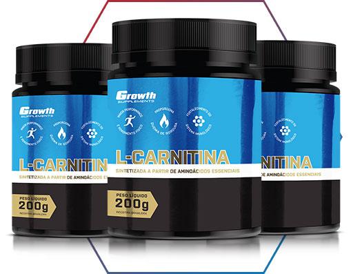 l-carnitina Growth Supplements: máxima qualidade e bom preço!