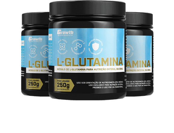 L-Glutamina (250g) - Growth Supplements