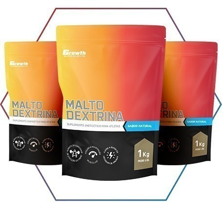 Suplemento de maltodextrina é na Growth Supplements