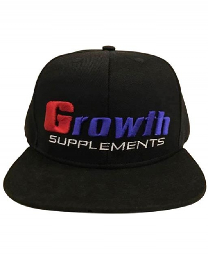Boné cor Preta - Growth Supplements