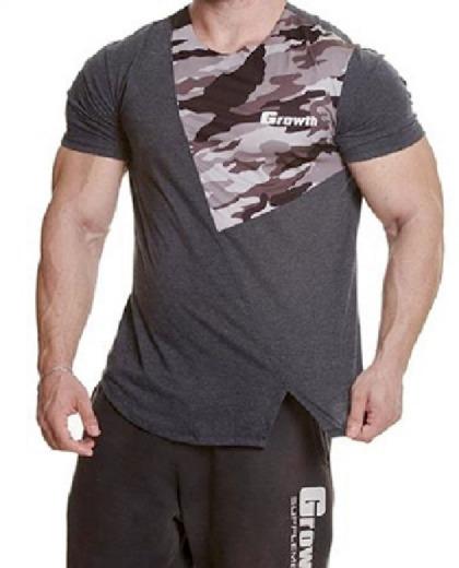 Camiseta Camuflada - Growth Supplements