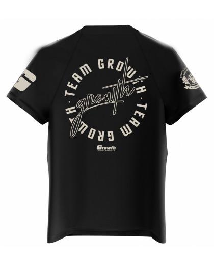Camiseta Dry-Fit Preta POSE - GROWTH SUPPLEMENTS