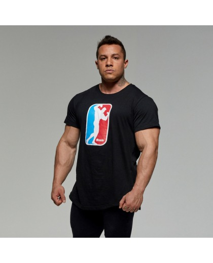 Camiseta Preta Pose - Growth Supplements
