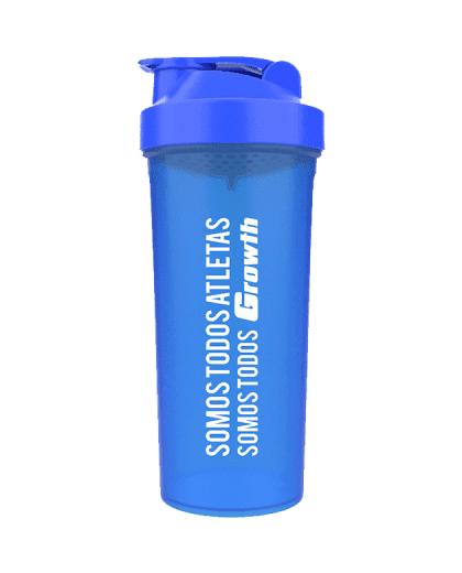 Coqueteleira Simples Azul 600ml - Growth Supplements