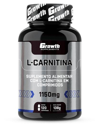 L-CARNITINA 1150MG  120 COMP - GROWTH SUPPLEMENTS