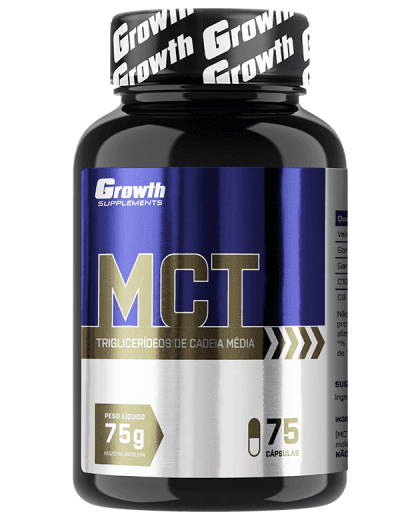 MCT 75 cáspulas - Growth Supplements