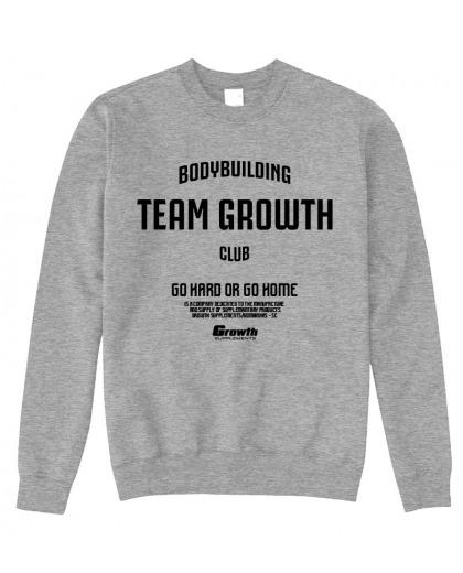MOLETOM TEAM GROWTH MESCLA TEAM GROWTH CLUB - GROWTH SUPPLEMENTS