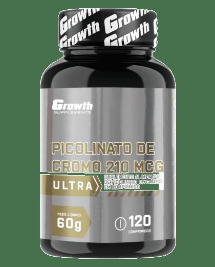 Picolinato de Cromo ULTRA 120 COMP - Growth Supplements