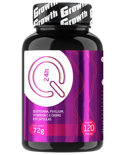 QUITOSANA+PSYLLIUM+VIT.C+CROMO Q24 120 CAPS- GROWTH SUPPLEMENTS