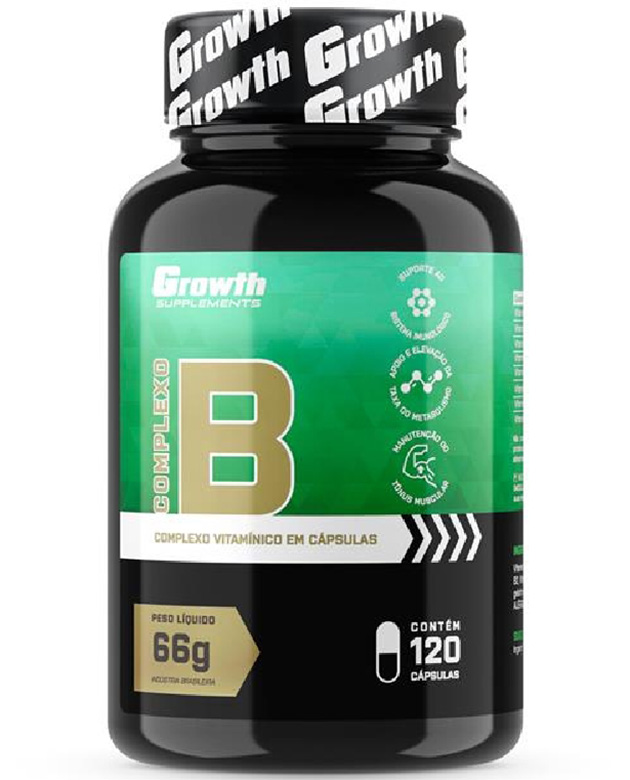 Complexo B 120 caps - Growth Supplements
