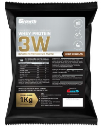 Suplemento 3W Whey Protein (1kg) - Growth Supplements