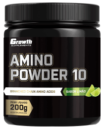Suplemento Amino Powder 10 - 200gr - Growth Supplements