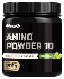 Suplemento Amino Powder 10 - 200gr - Growth Supplements