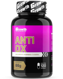 Suplemento Anti-OX 120 caps - Growth Supplements