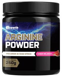Suplemento ARGININA POWDER 250GR - Growth Supplements